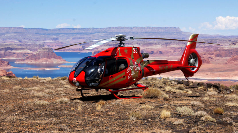 Helicopter tour From Page, Lake Powell